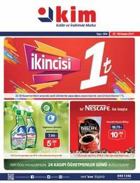 Kim Market 22 - 30 Kasım 2017 Kampanya Broşürü! Sayfa 1 Önizlemesi
