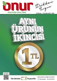 Onur Market 30 Kasım - 13 Aralık 2017 Bursa Özel Kampanya Broşürü! Sayfa 1