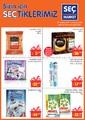Seç Market 27 Aralık 2017 - 2 Ocak 2018 Kampanya Broşürü Sayfa 1