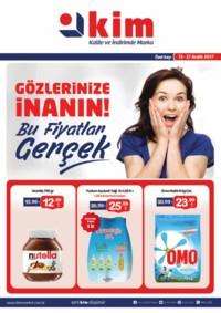 Kim Market 13-21 Aralık 2017 Kampanya Broşürü! Sayfa 1