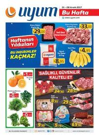 Uyum Market 01 - 08 Aralık 2017 Kampanya Broşürü! Sayfa 1 Önizlemesi