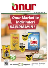 Onur Market 14 - 20 Aralık 2017 Kampanya Broşürü! Sayfa 1