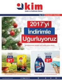 Kim Market 22 Aralık 2017 - 04 Ocak 2018 Kampanya Broşürü! Sayfa 1