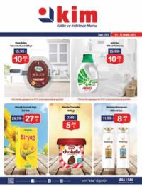 Kim Market 01 - 12 Aralık 2017 Kampanya Broşürü! Sayfa 1