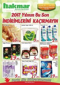 Hakmar 26 Aralık 2017 - 07 Ocak 2018 Kampanya Broşürü! Sayfa 1