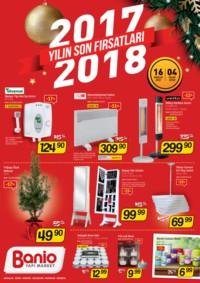 Banio Yapı Market 16 Aralık 2017 - 04 Ocak 2018 Kampanya Broşürü! Sayfa 1