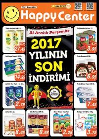 Happy Center 21 - 31 Aralık 2017 Kampanya Broşürü! Sayfa 1