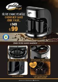 Gold Master Zinde Filtre Kahve Makinesi Kampanya Broşürü! Sayfa 2