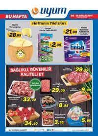 Uyum Market 08 - 15 Aralık 2017 Kampanya Broşürü! Sayfa 1