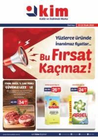 Kim Market 13 - 21 Ocak 2018 Ege Bölge Kampanya Broşürü! Sayfa 1