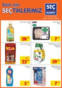 Seç Market 24 - 30 Ocak 2018 Kampanya Broşürü! Sayfa 1