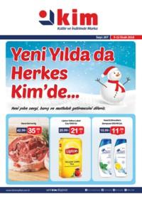 Kim Market 05 - 12 Ocak 2018 Marmara Bölgesi Kampanya Broşürü! Sayfa 1