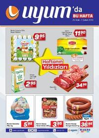 Uyum Market 26 Ocak - 01 Şubat 2018 Kampanya Broşürü! Sayfa 1