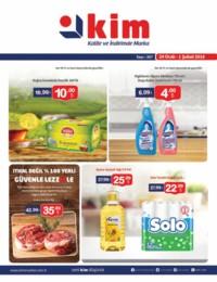 Kim Market 24 Ocak - 01 Şubat 2018 Kampanya Broşürü! Sayfa 1 Önizlemesi