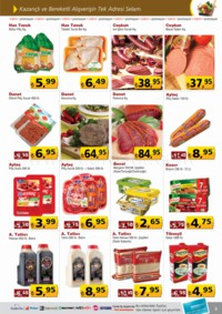 Selam Market 17 - 31 Ocak 2018 Kampanya Broşürü! Sayfa 3 Önizlemesi