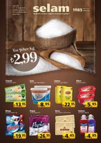 Selam Market 17 - 31 Ocak 2018 Kampanya Broşürü! Sayfa 1 Önizlemesi