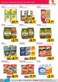 Selam Market 17 - 31 Ocak 2018 Kampanya Broşürü! Sayfa 4 Önizlemesi