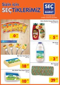 Seç Market 17 - 23 Ocak 2018 Kampanya Broşürü! Sayfa 1