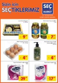 Seç Market 10 - 16 Ocak 2018 Kampanya Broşürü! Sayfa 1