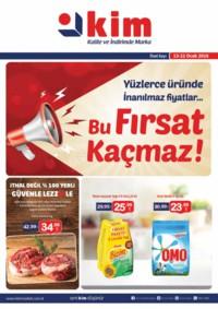 Kim Market 13 - 21 Ocak 2018 Kampanya Broşürü! Sayfa 1