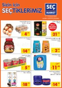 Seç Market 07 - 13 Şubat 2018 Kampanya Broşürü! Sayfa 1