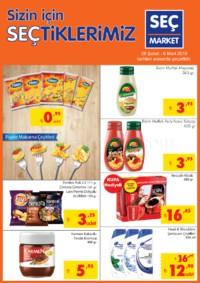 Seç Market 28 Şubat - 06 Mart 2018 Kampanya Broşürü! Sayfa 1