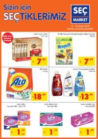 Seç Market 14 - 20 Şubat 2018 Kampanya Broşürü! Sayfa 1