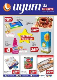 Uyum Market 23 Şubat - 01 Mart 2018 Kampanya Broşürü! Sayfa 1
