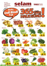 Selam Market 15 - 22 Şubat 2018 Kampanya Broşürü! Sayfa 1