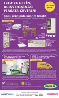 IKEA 16 - 18 Şubat 2018 Kampanya Broşürü! Sayfa 1