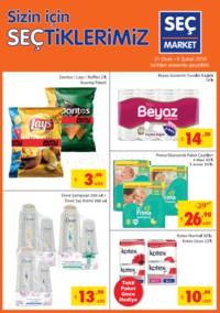 Seç Market 01 - 06 Şubat 2018 Kampanya Broşürü! Sayfa 1