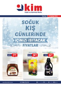 Kim Market 02 - 08 Şubat 2018 Ege Bölge Kampanya Broşürü! Sayfa 1 Önizlemesi