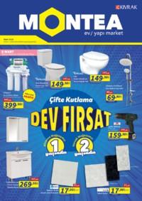 Montea Yapı Market 03 - 31 Mart 2018 Kampanya Broşürü! Sayfa 1 Önizlemesi
