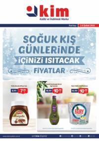 Kim Market 02 - 08 Şubat 2018 Marmara Bölge Kampanya Broşürü! Sayfa 1 Önizlemesi