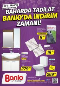 Banio Yapı Market 01 - 31 Mart 2018 Kampanya Broşürü! Sayfa 1