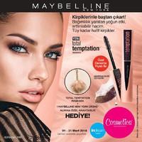 Cosmetica 01 - 31 Mart 2018 Kampanya Broşürü! Sayfa 1