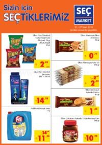 Seç Market 21 - 27 Mart 2018 Kampanya Broşürü! Sayfa 1