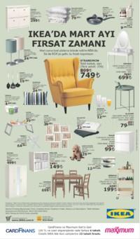 IKEA 01 Mart - 01 Nisan 2018 Kampanya Broşürü! Sayfa 1