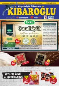Kibaroğlu 17 - 31 Mart 2018 Kampanya Broşürü! Sayfa 1