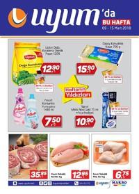 Uyum Market 09 - 15 Mart 2018 Kampanya Broşürü! Sayfa 1