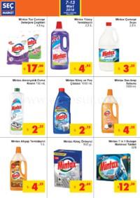 Seç Market 07 - 13 Mart 2018 Kampanya Broşürü! Sayfa 2
