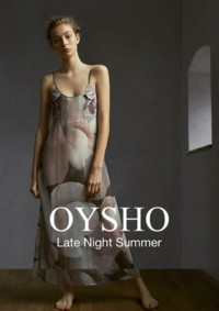 """Oysho """"Late Night Summer"""" 2018 Kataloğu Sayfa 1"""