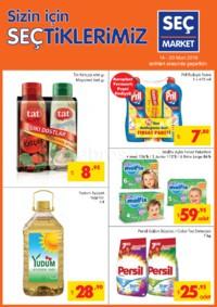 Seç Market 14 - 20 Mart 2018 Kampanya Broşürü! Sayfa 1