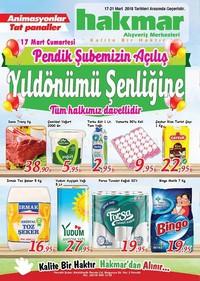 Hakmar 17 - 21 Mart 2018 Kampanya Broşürü! Sayfa 1