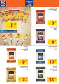 Seç Market 25 Nisan - 01 Mayıs 2018 Kampanya Broşürü! Sayfa 2