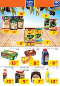 Seç Market 25 Nisan - 01 Mayıs 2018 Kampanya Broşürü! Sayfa 3 Önizlemesi