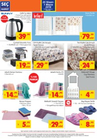 Seç Market 25 Nisan - 01 Mayıs 2018 Kampanya Broşürü! Sayfa 6 Önizlemesi
