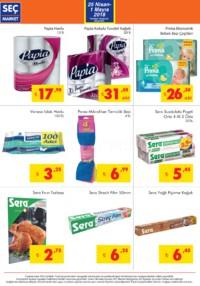 Seç Market 25 Nisan - 01 Mayıs 2018 Kampanya Broşürü! Sayfa 4 Önizlemesi
