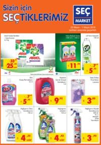 Seç Market 25 Nisan - 01 Mayıs 2018 Kampanya Broşürü! Sayfa 1