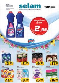 Selam Market 04 - 16 Nisan 2018 Kampanya Broşürü! Sayfa 1